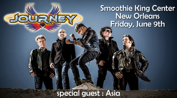 Journey Smoothie King Center June 9