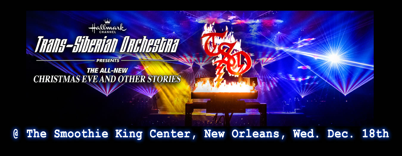 Trans Siberian Orch New Orleans